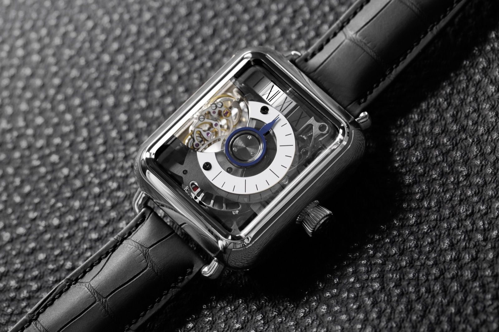 Swiss Alp Watch Minute Retrograde - 2