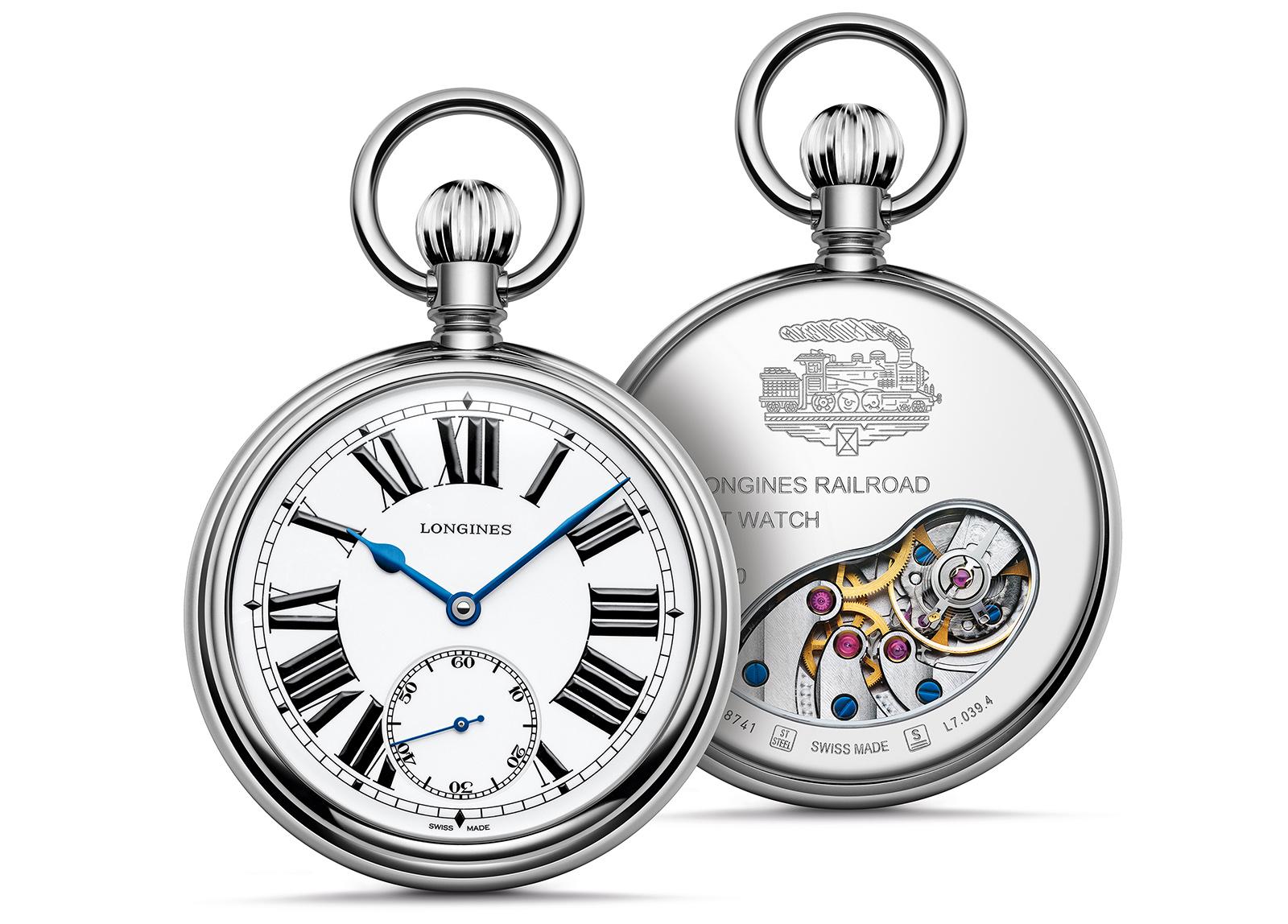 Longines RailRoad Pocket Watch