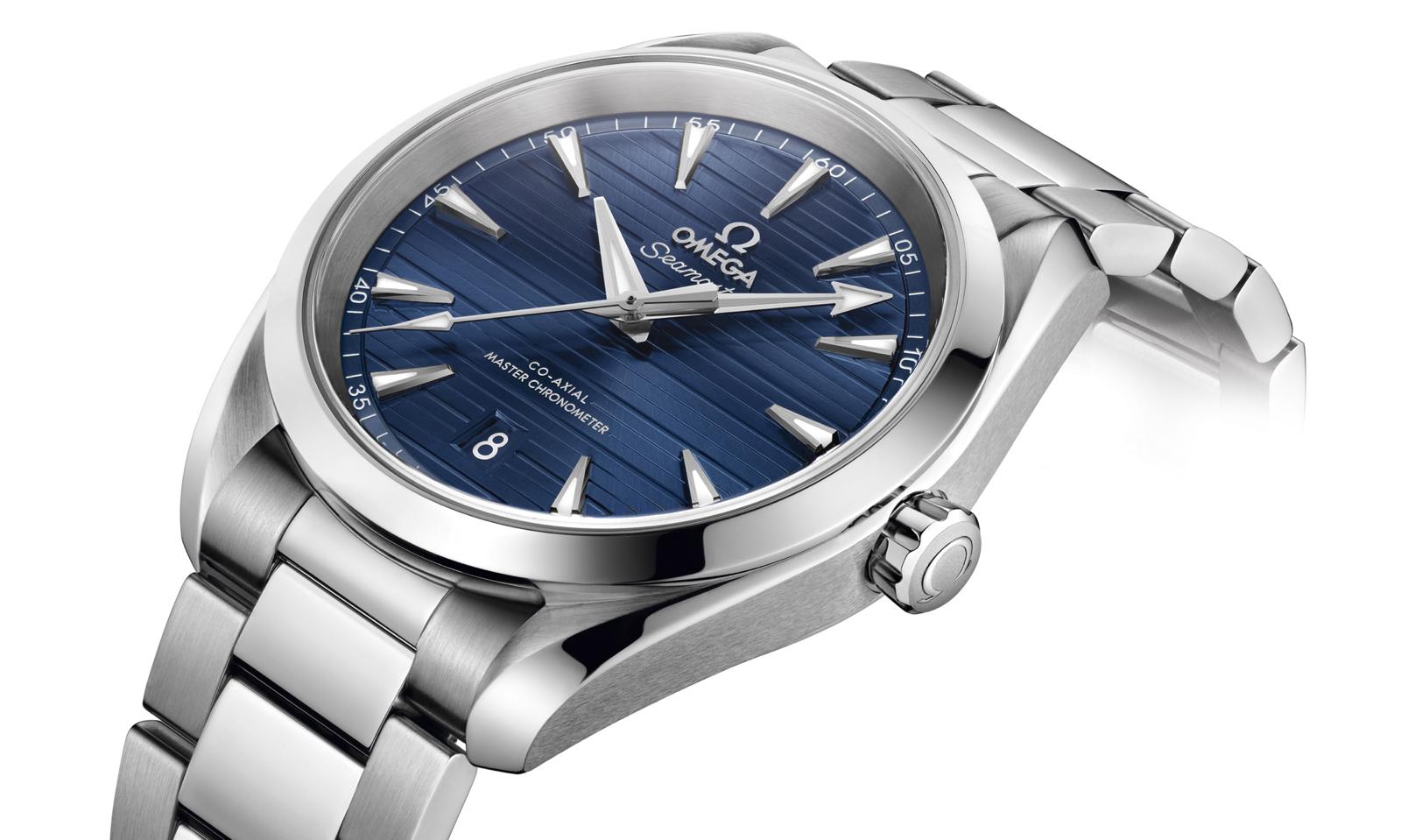 Omega Seamaster Aqua Terra Master Chronometer Acero Brazalete Detail