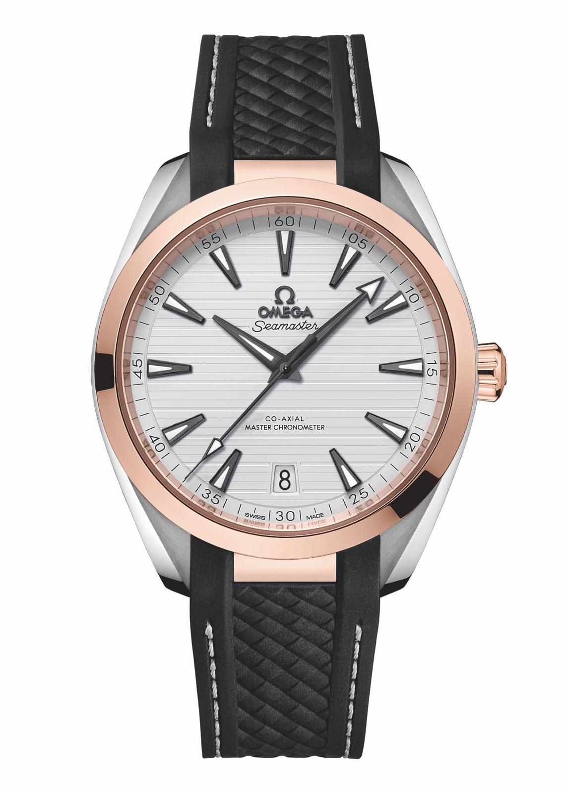Omega Seamaster Aqua Terra Master Chronometer Sedna Gold Soldat