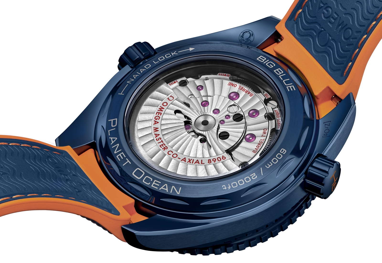 Omega Seamaster Planet Ocean Big Blue Back