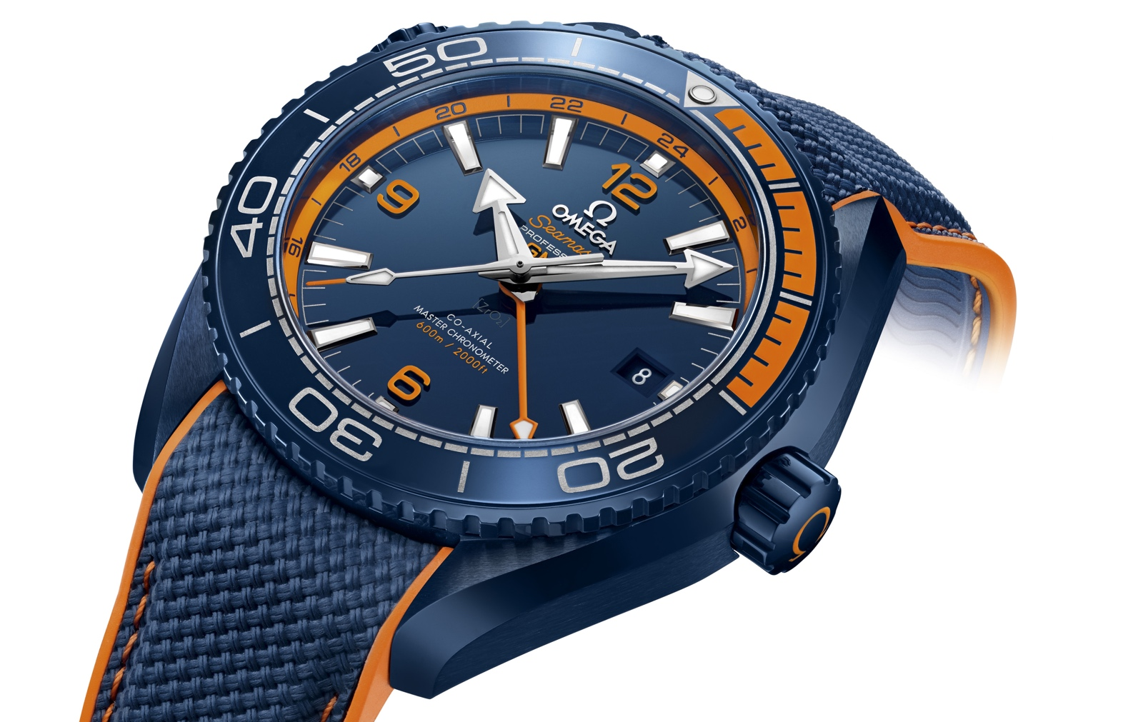 Omega Seamaster Planet Ocean Big Blue Detail