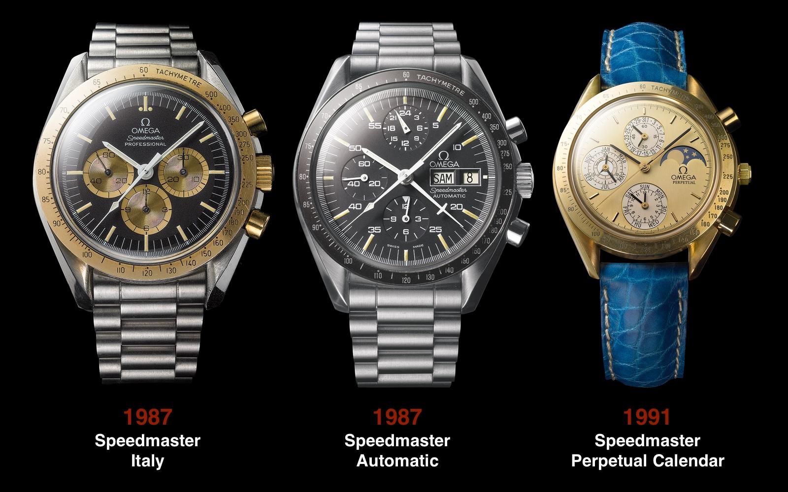 Omega Speedmaster 1987 1987 1991