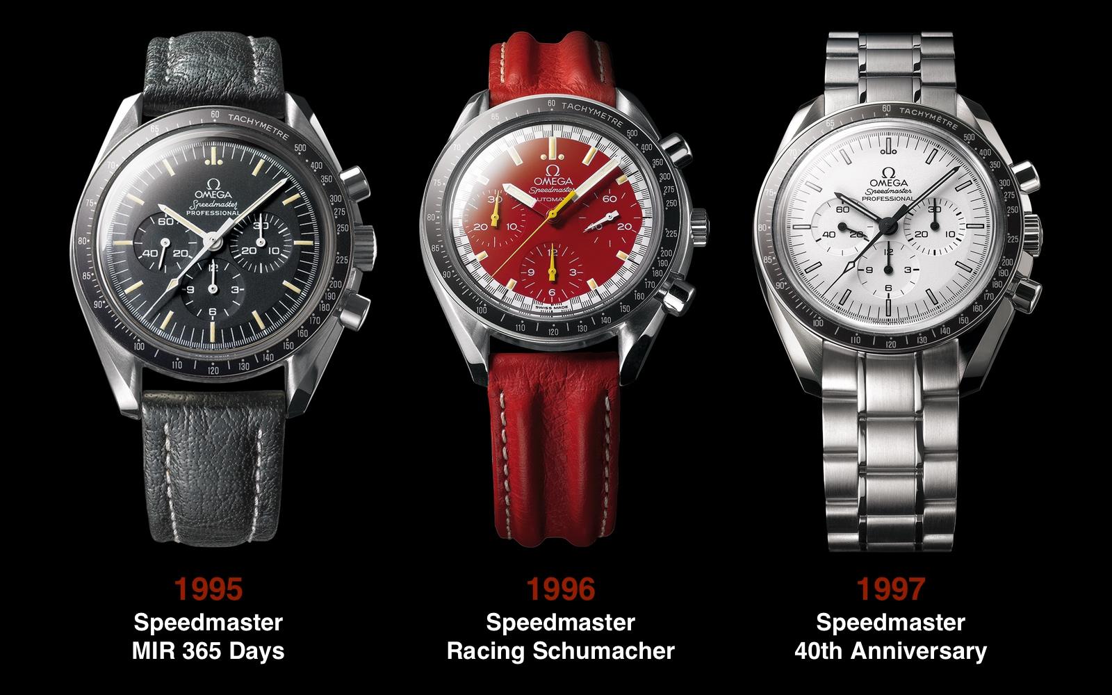 Omega Speedmaster 1995 1996 1997