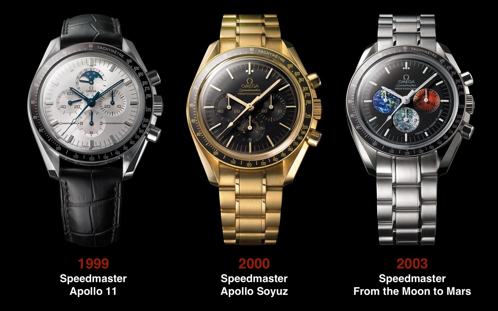 Omega Speedmaster 1999 2000 2003
