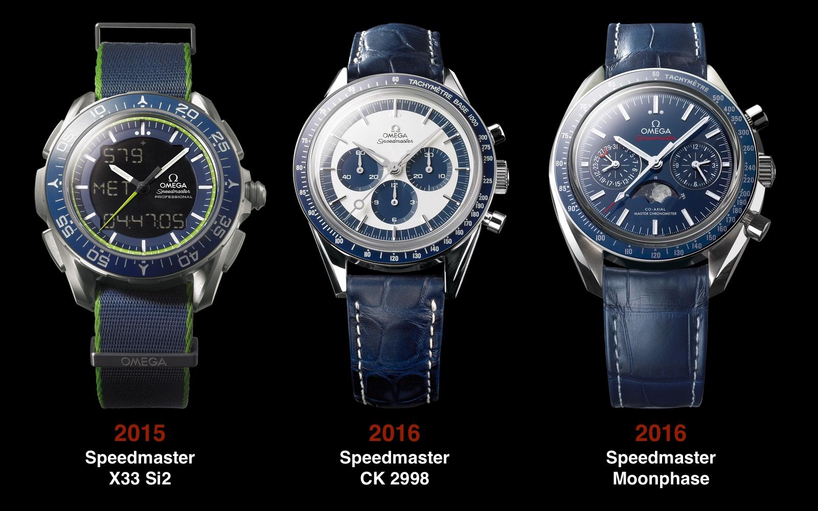 Omega Speedmaster 2015 2016 2016