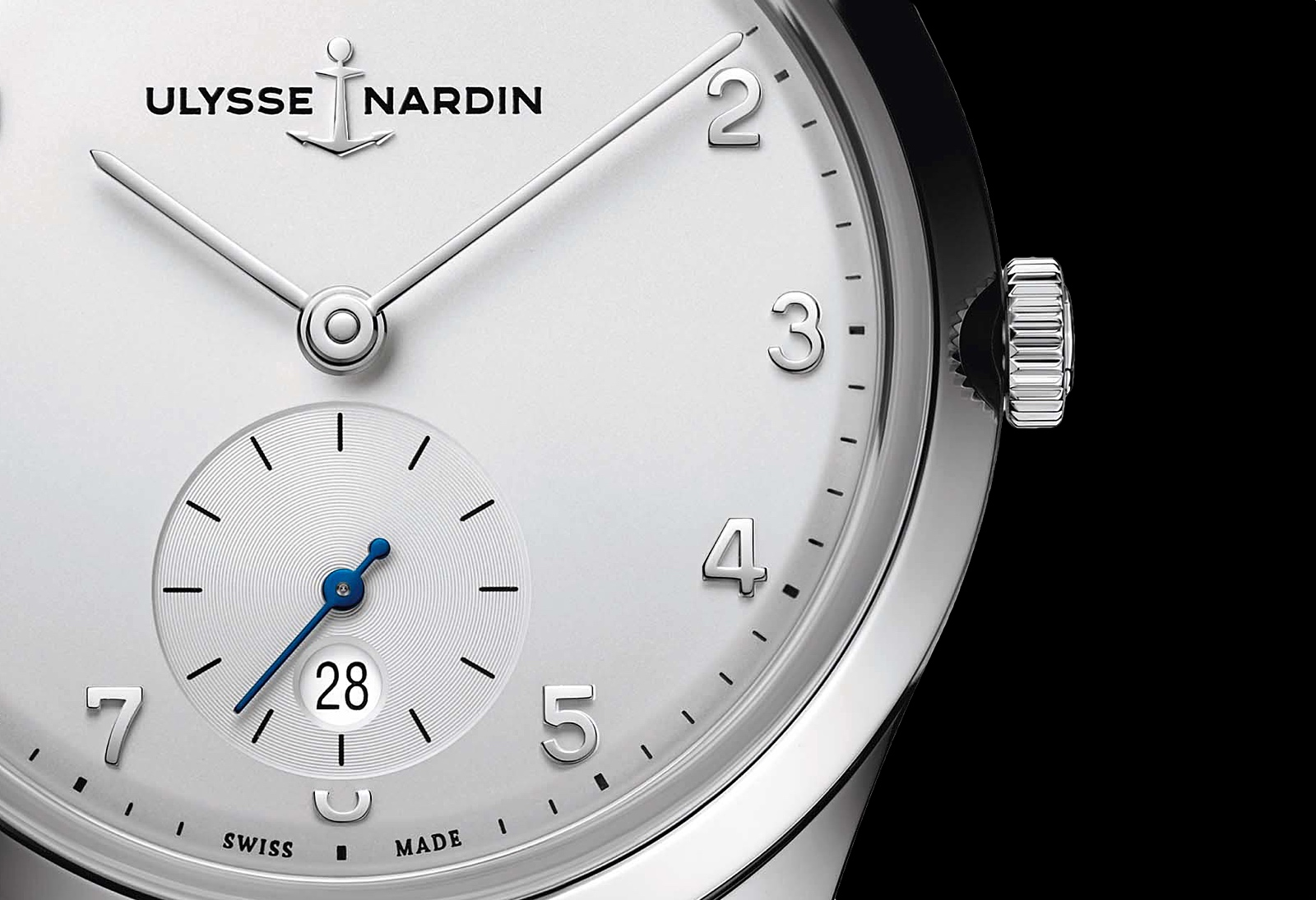Ulysse Nardin Classico Paul David Nardin - dial