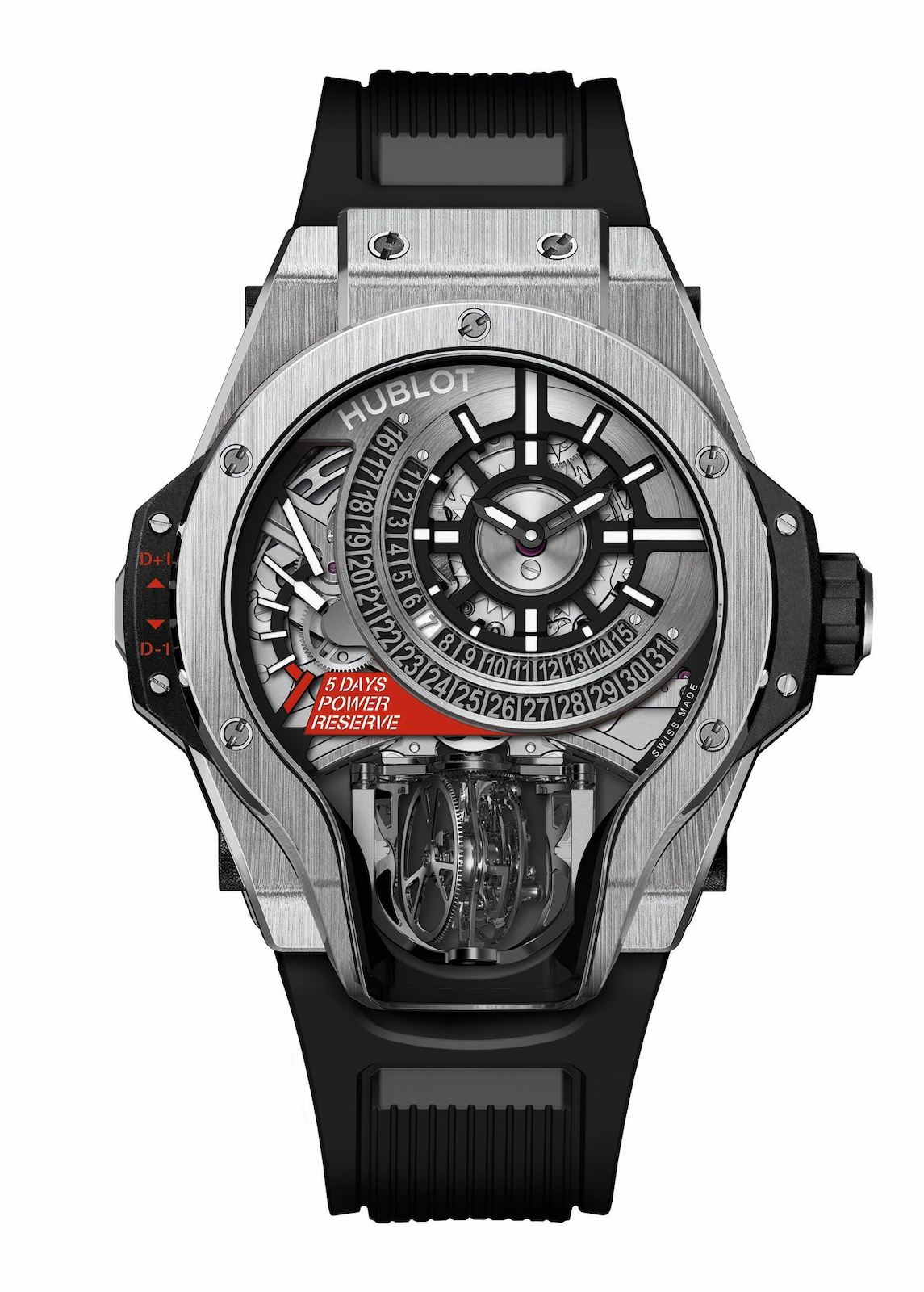 Hublot en Baselworld 2017 - MP-09 Tourbillon Bi-Axis - front