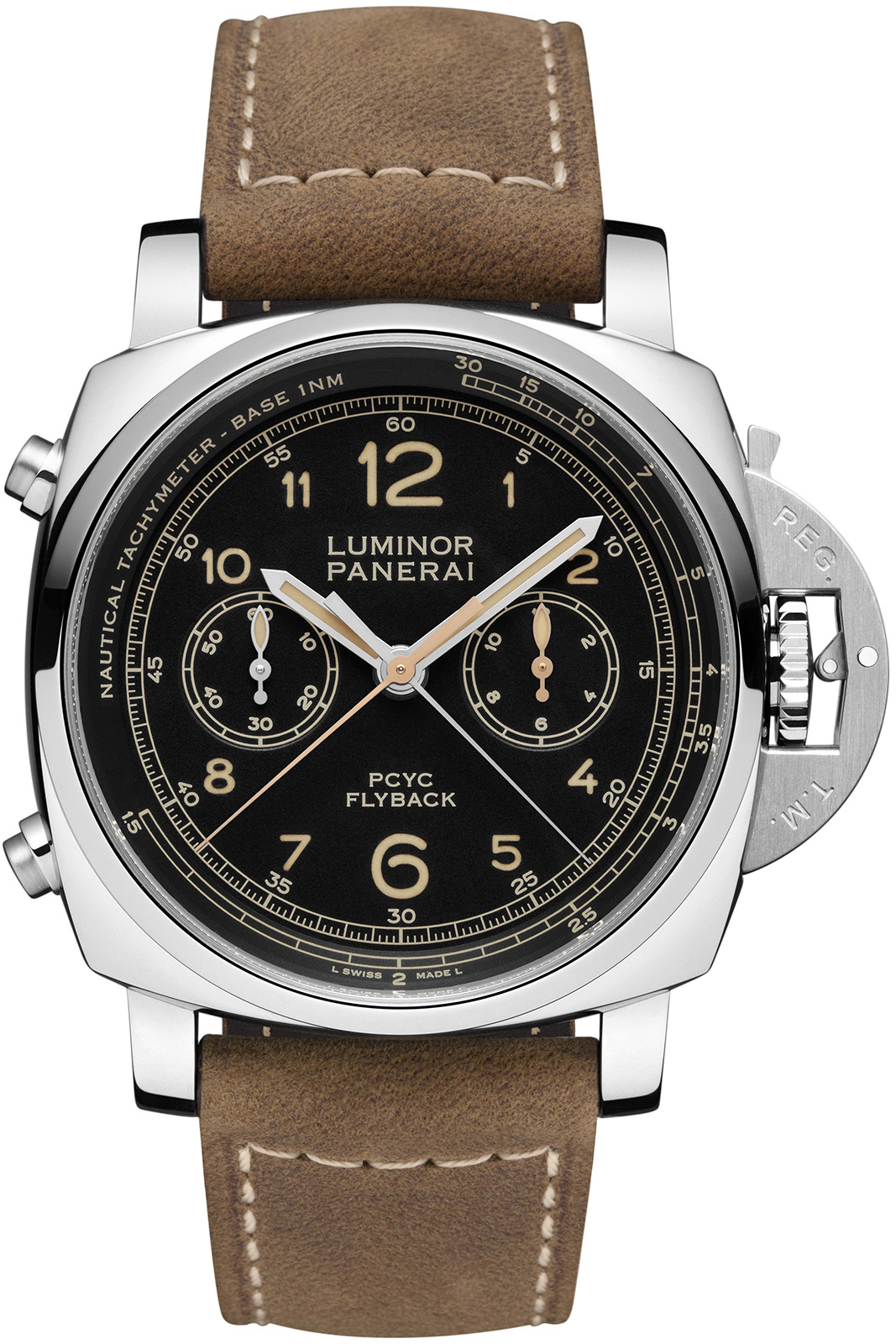Panerai Luminor 1950 PCYC 3 Days Chrono Flyback Automatic Pam653