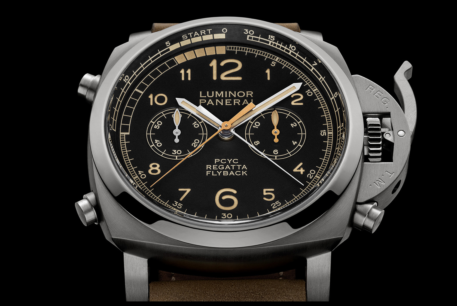 Panerai Luminor 1950 PCYC Regatta 3 Days Chrono Regatta Flyback Automatic Pam652