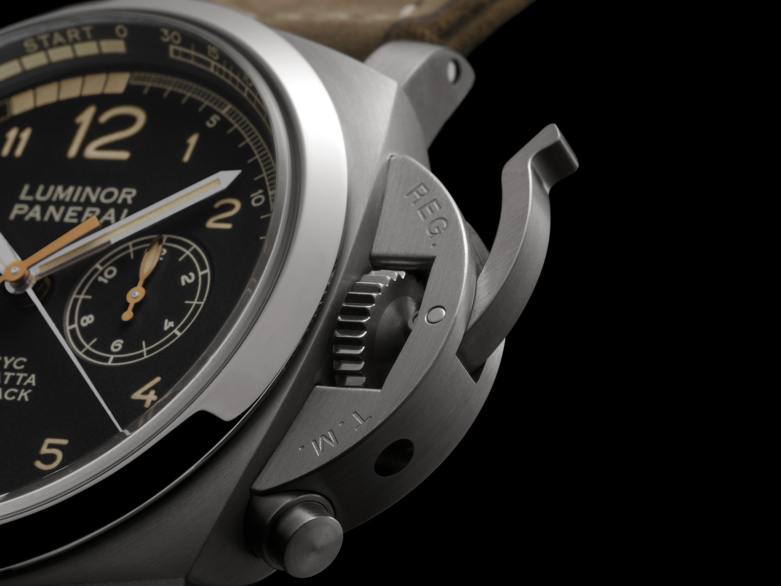 Panerai Luminor 1950 PCYC Regatta3 Days Chrono Regatta Flyback Automatic Pam652