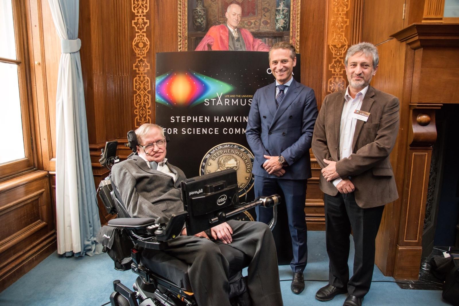 Omega Starmus Hawking-Aeschlimann-Israelian