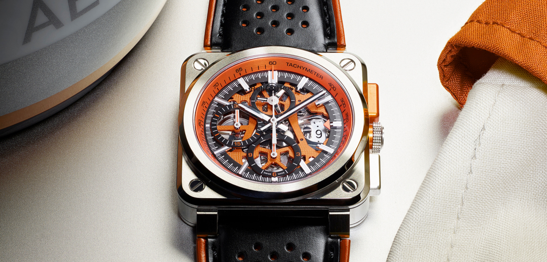 Bell & Ross BR 03-94 AeroGT Orange -01
