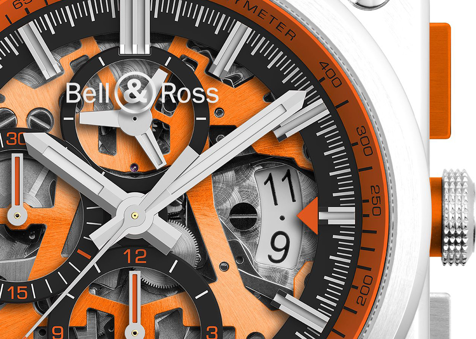 Bell & Ross BR 03-94 AeroGT Orange -04