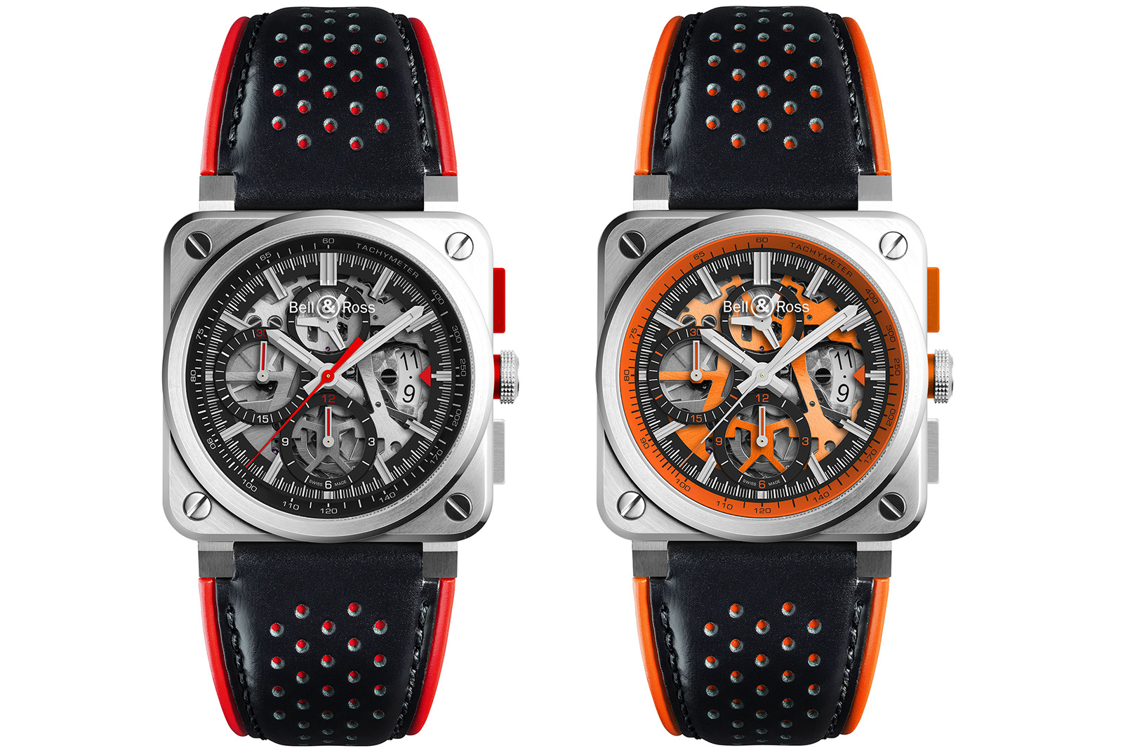 Bell & Ross BR 03-94 AeroGT Orange -05