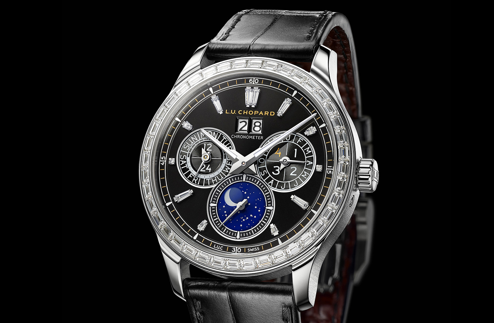 Chopard L.U.C Lunar One Black Tie - 1