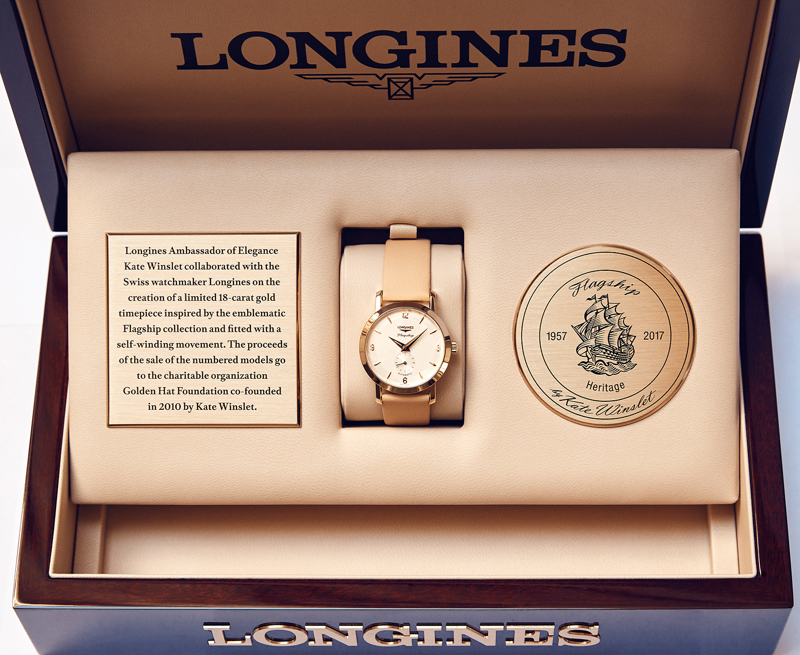 Longines Flagship Heritage by Kate Winslet