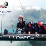 Omega apoya al ETNZ en la 35ª Edición de la Copa América.