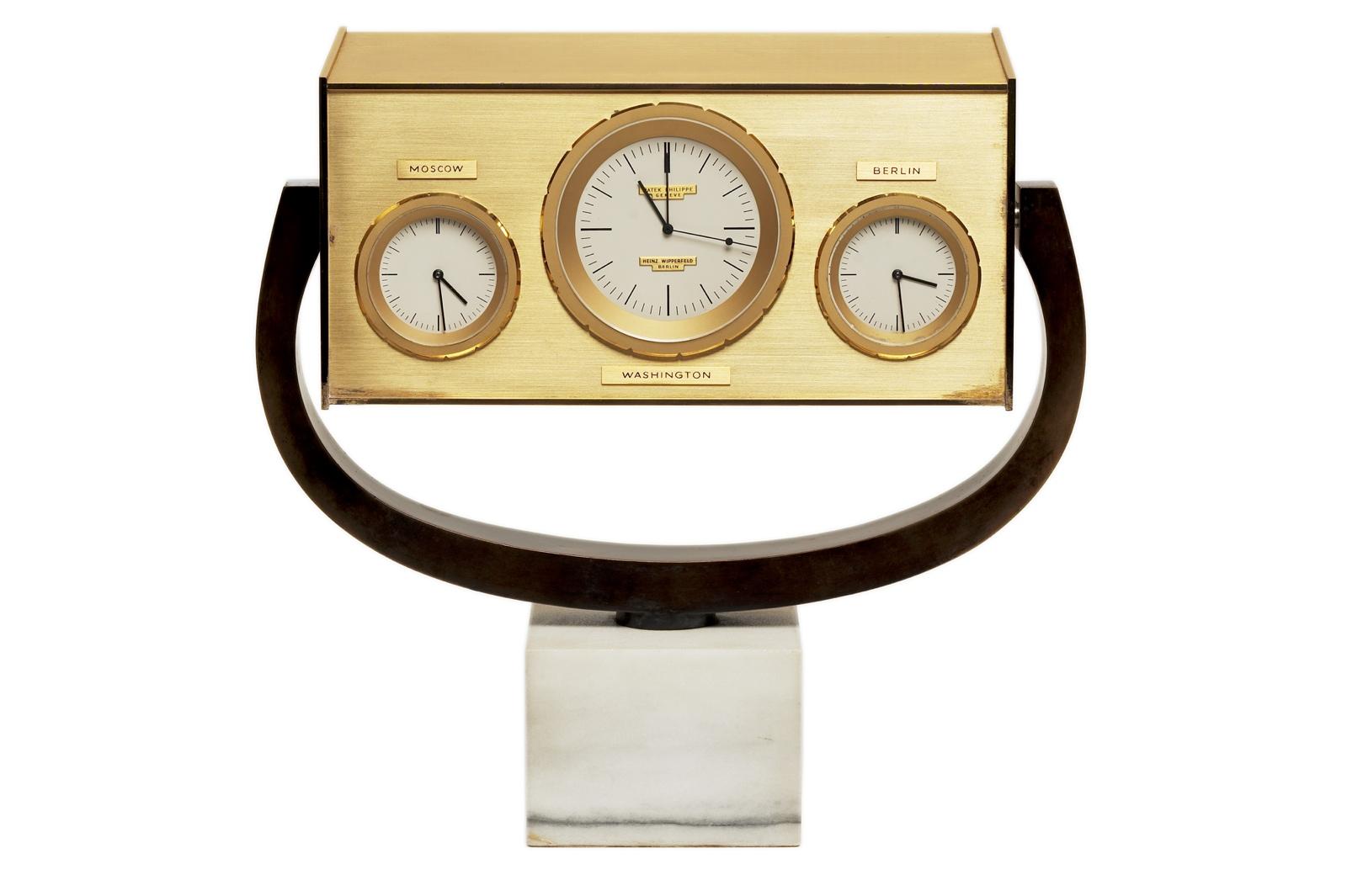Patek Philippe en New York - John F. Kennedy clock (1963)