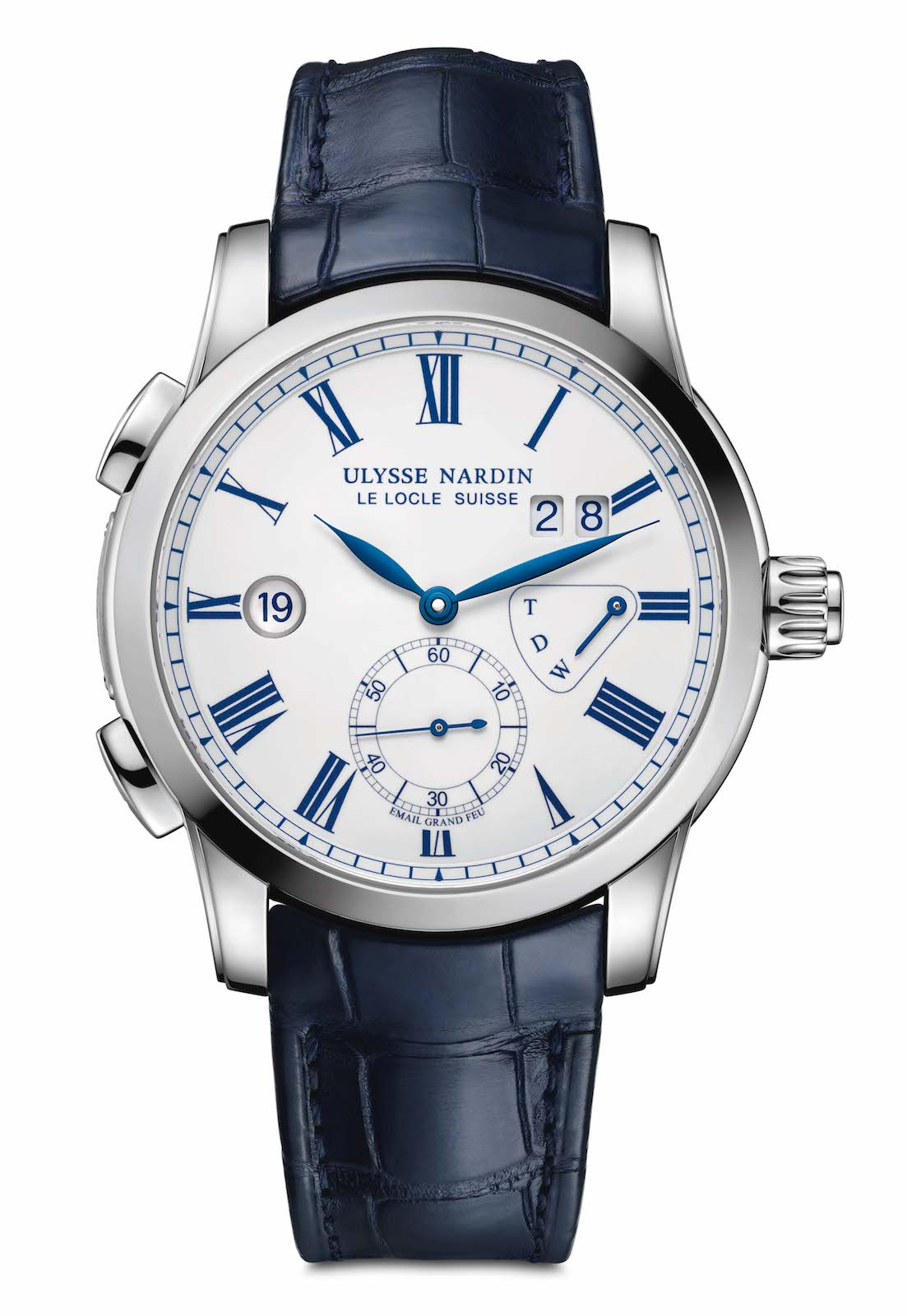 Ulysse Nardin Classic Dual Time Email Boutique - front