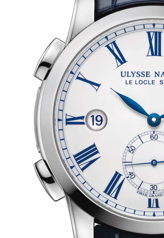 Ulysse Nardin Classic Dual Time Email Boutique - pulsadores