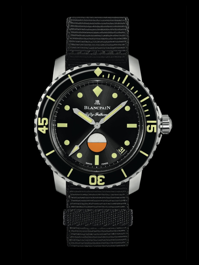 Only Watch 2017 - BLANCPAIN Tribute to Fifty Fathoms MIL-SPEC