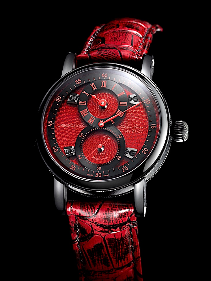 Only Watch 2017 - CHRONOSWISS Flying Regulator Red Passion