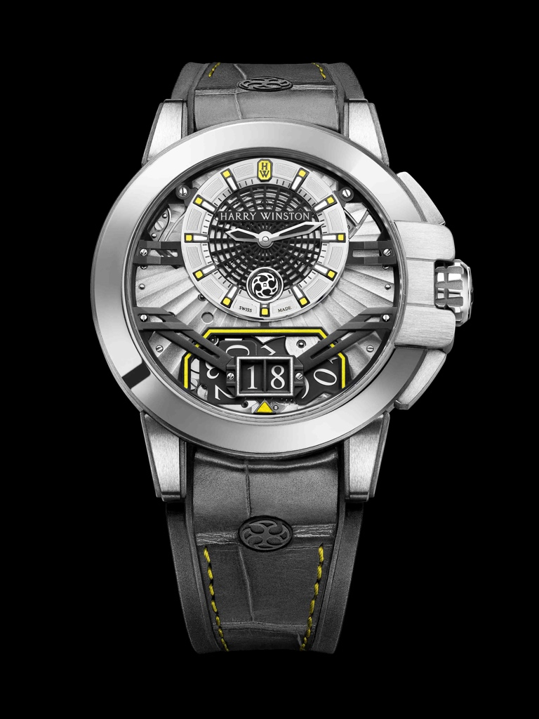 Only Watch 2017 - HARRY WINSTON Ocean Big Date