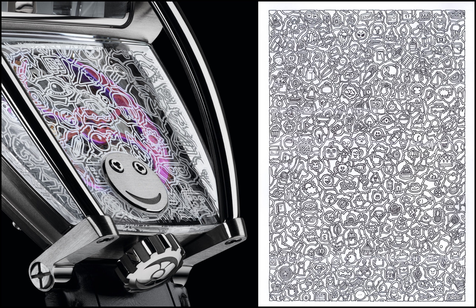 MBF Horological Machine N8 Only Watch Detail and Doodle