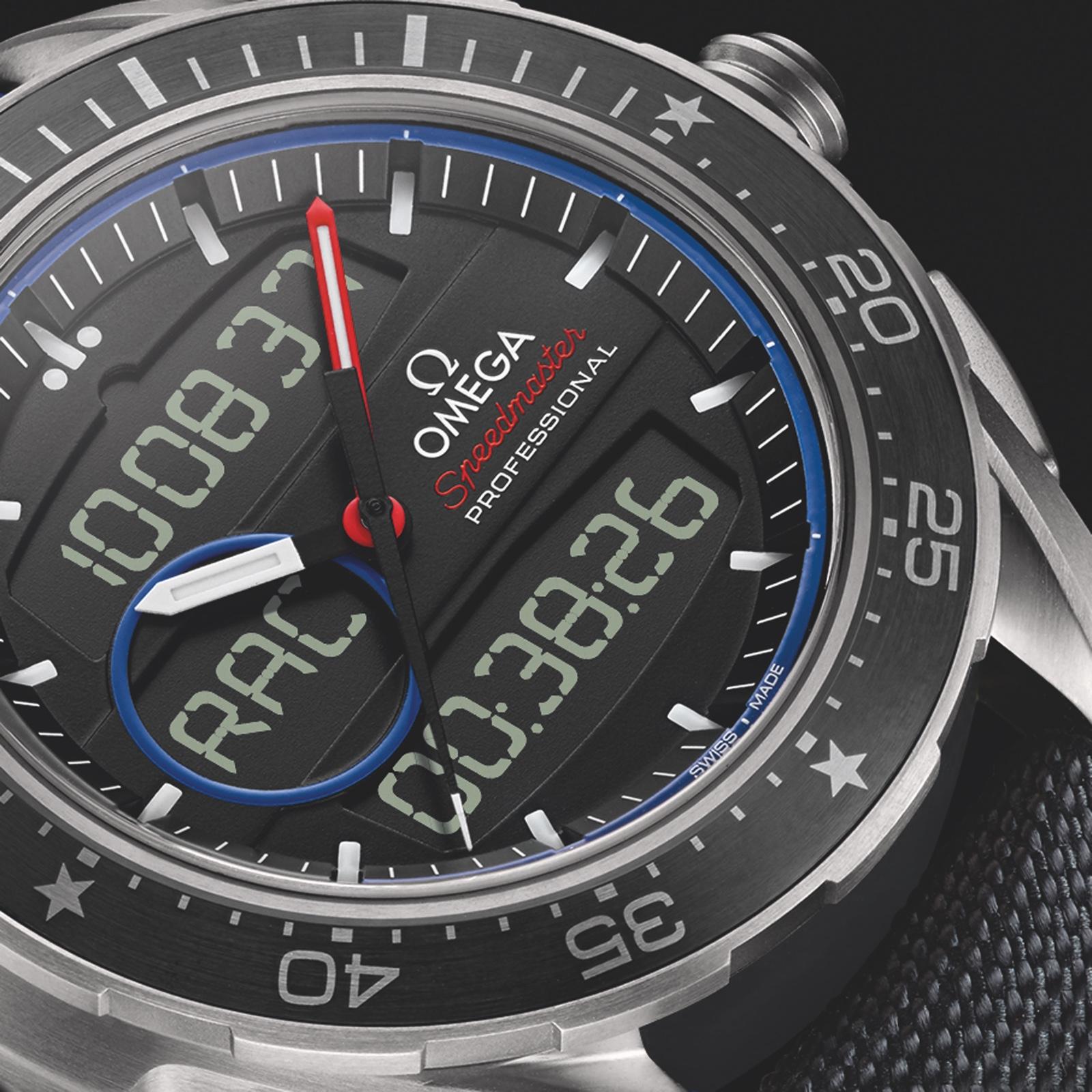Omega ETNZ Speedmaster X33 Detail