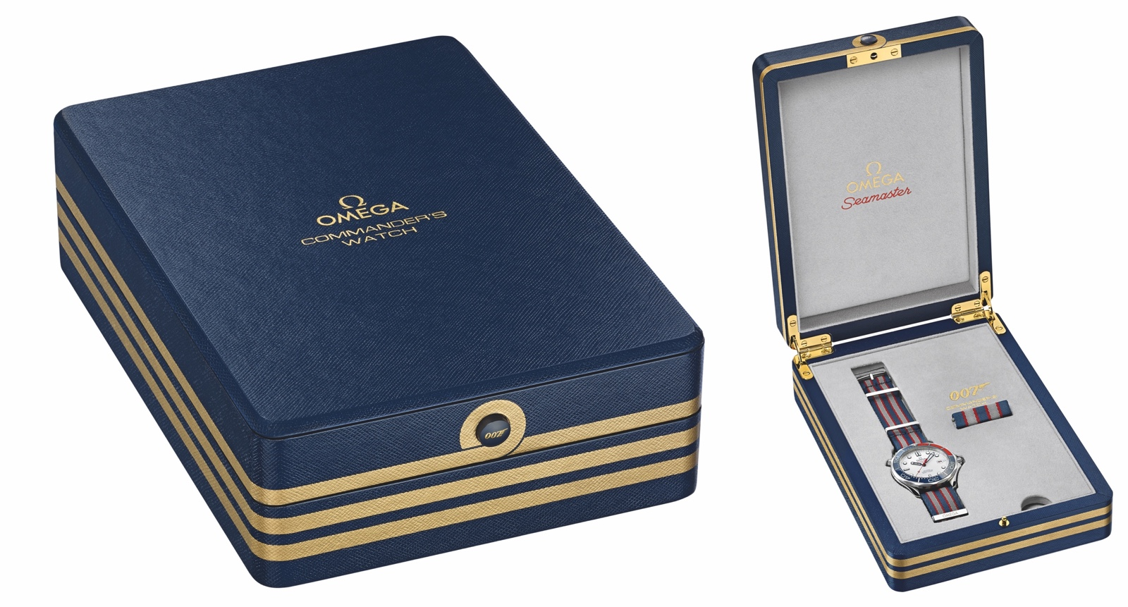 Omega Seamaster Diver 300M Commanders Watch Box