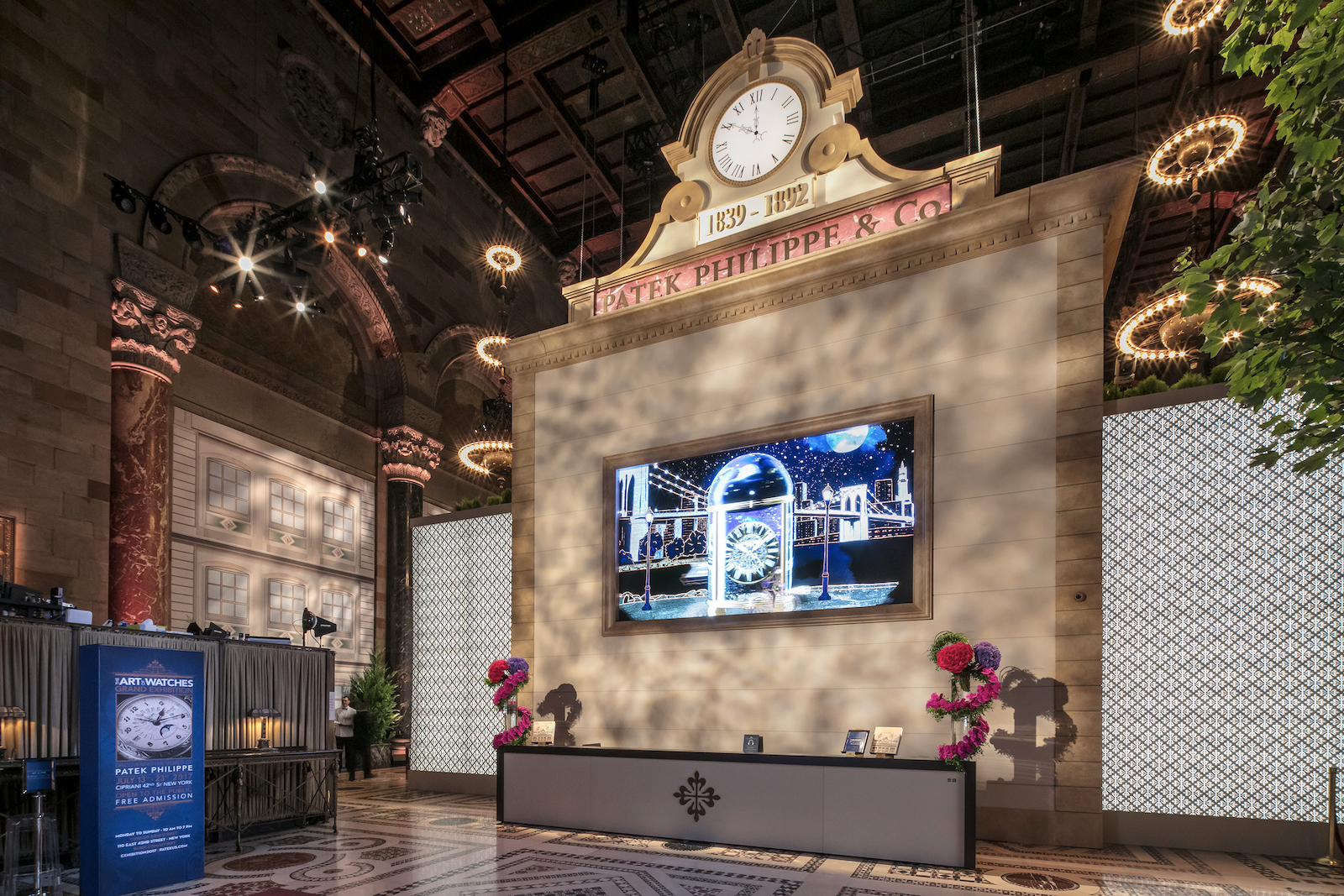 Patek Philippe The Art of Watches Grand Exhibition New York 2017 - Cipriani, Hall