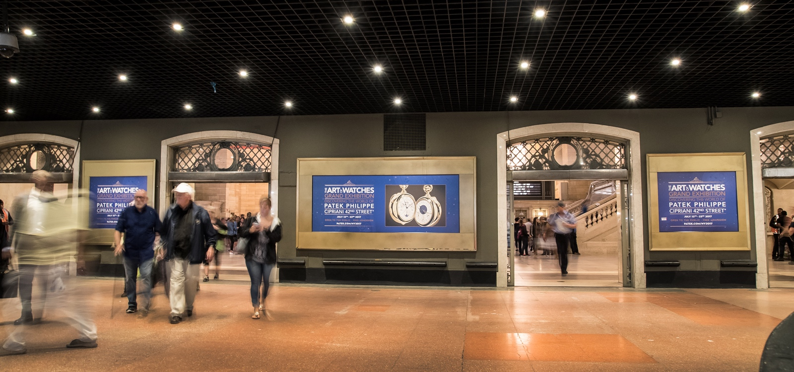 Patek Philippe The Art of Watches Grand Exhibition New York 2017 - Grand Central