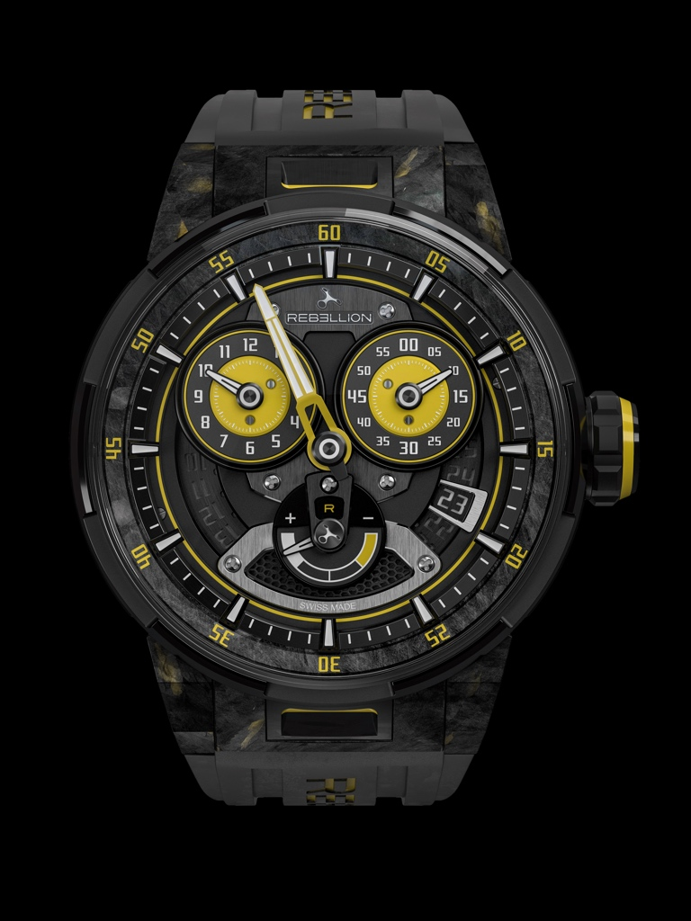 Only Watch 2017 - REBELLION Predator 2.0 Regulator Power Reserve
