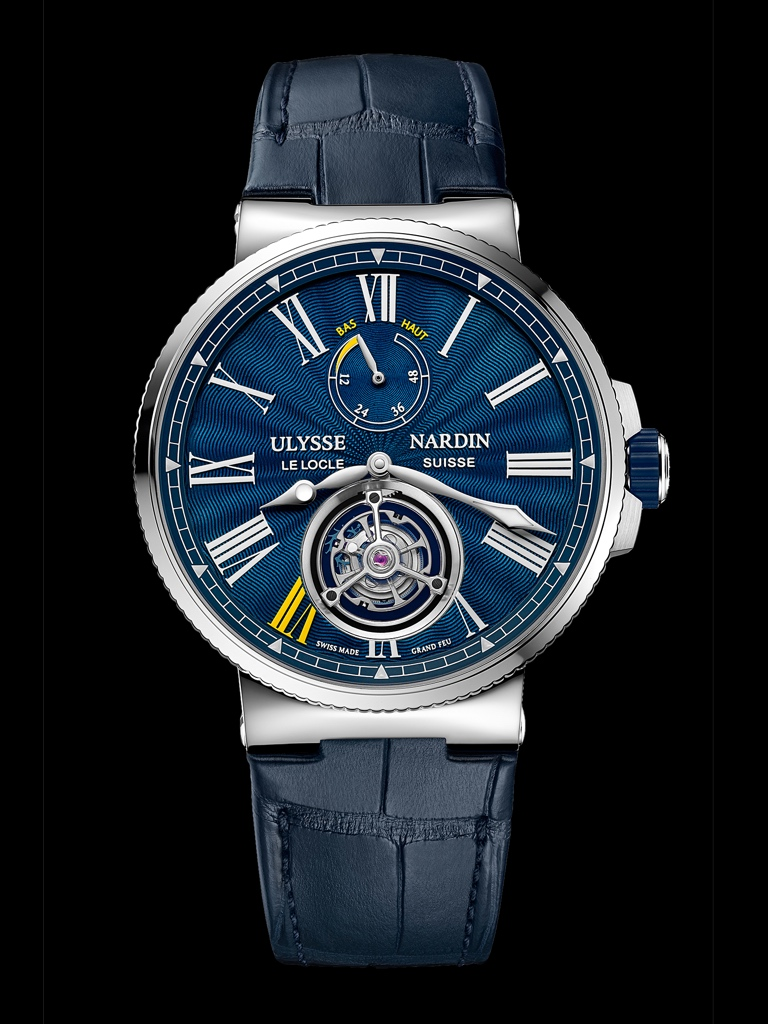 Only Watch 2017 - ULYSSE NARDIN Marine Tourbillon