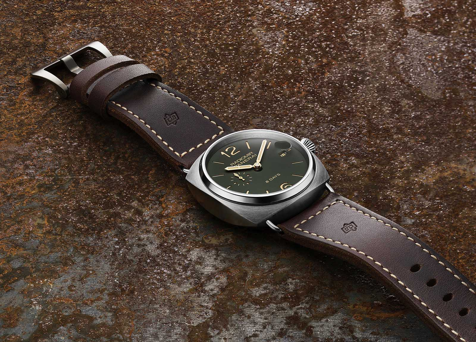 Panerai Radiomir 8 Days Titanio Green Dial - 45mm - PAM735