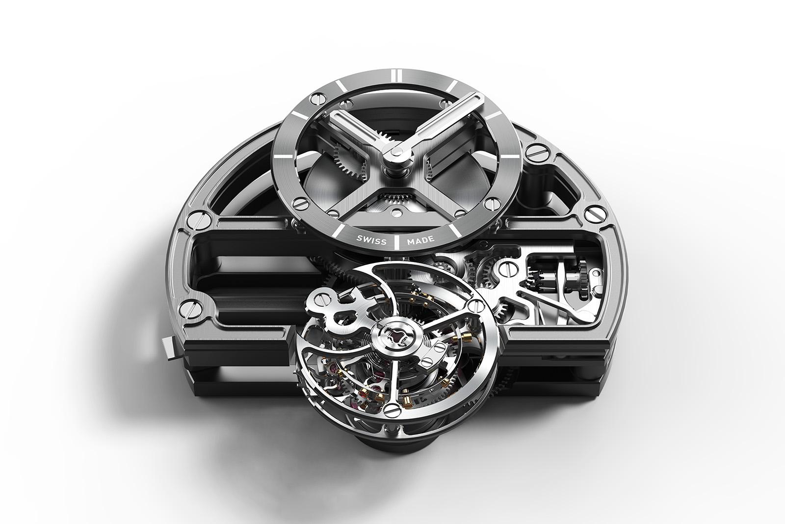 Bell & RossBR-X1 Skeleton Tourbillon Sapphire