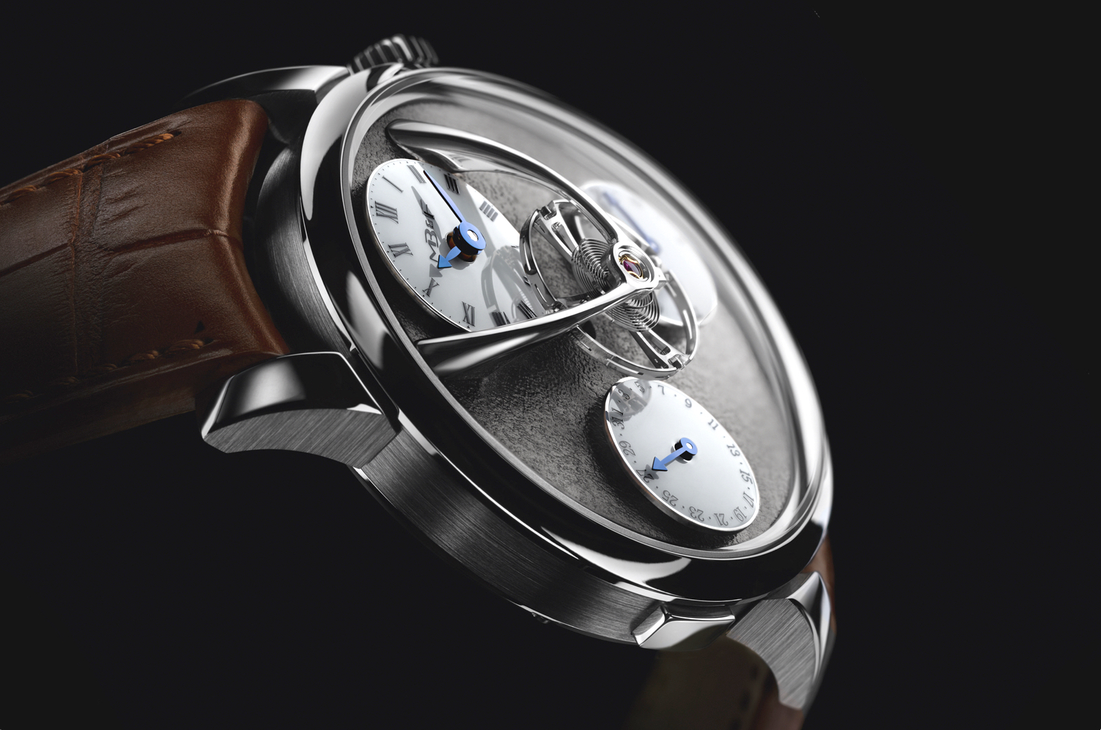 MBandF Legacy Machine SE Ruthenium Profile