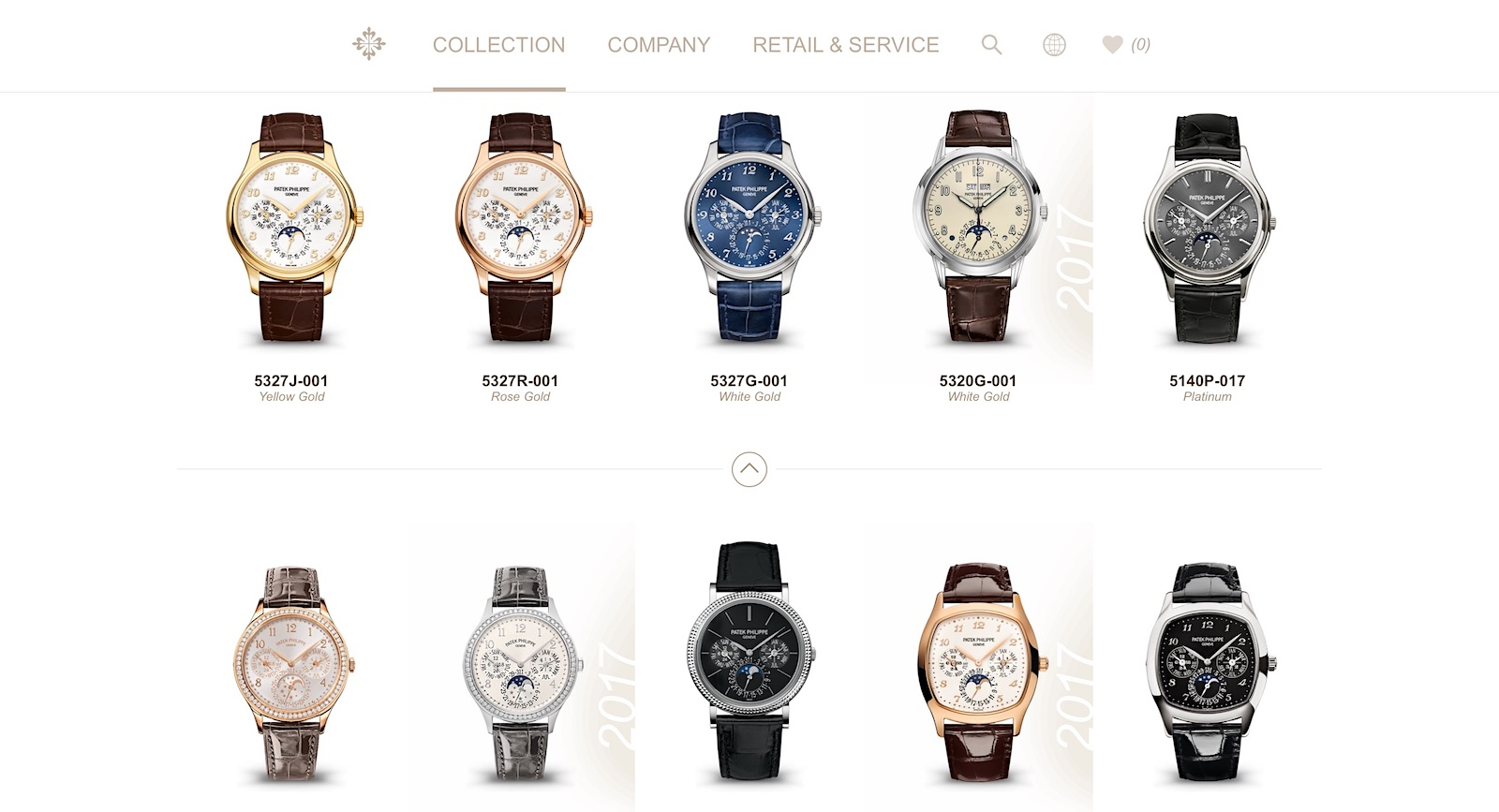 Nueva web de Patek Philippe - Collection - Grand Complications