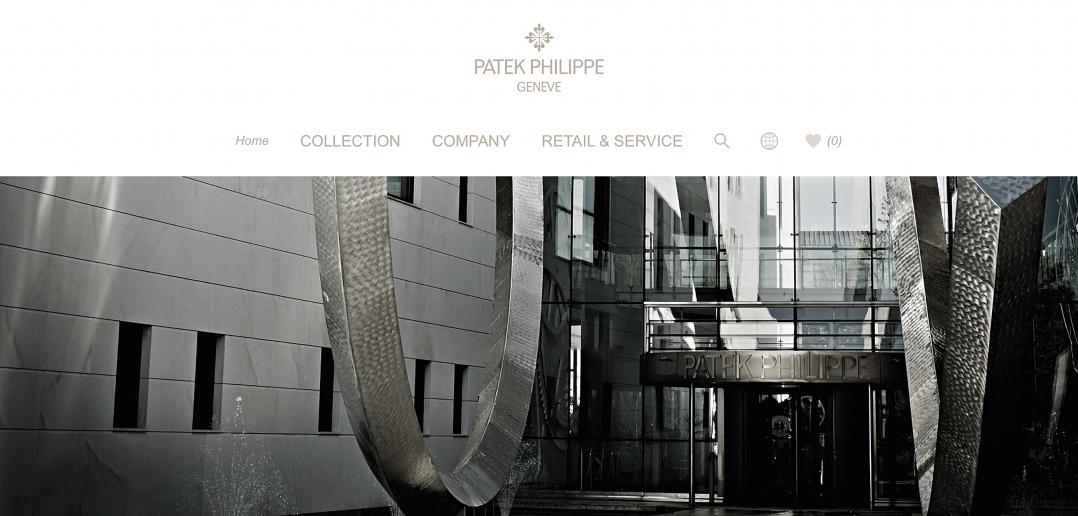 Nueva web de Patek Philippe - cover