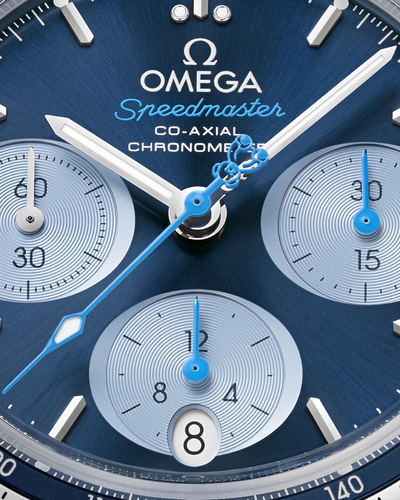 Omega Speedmaster 38 Orbis 2017 Detail