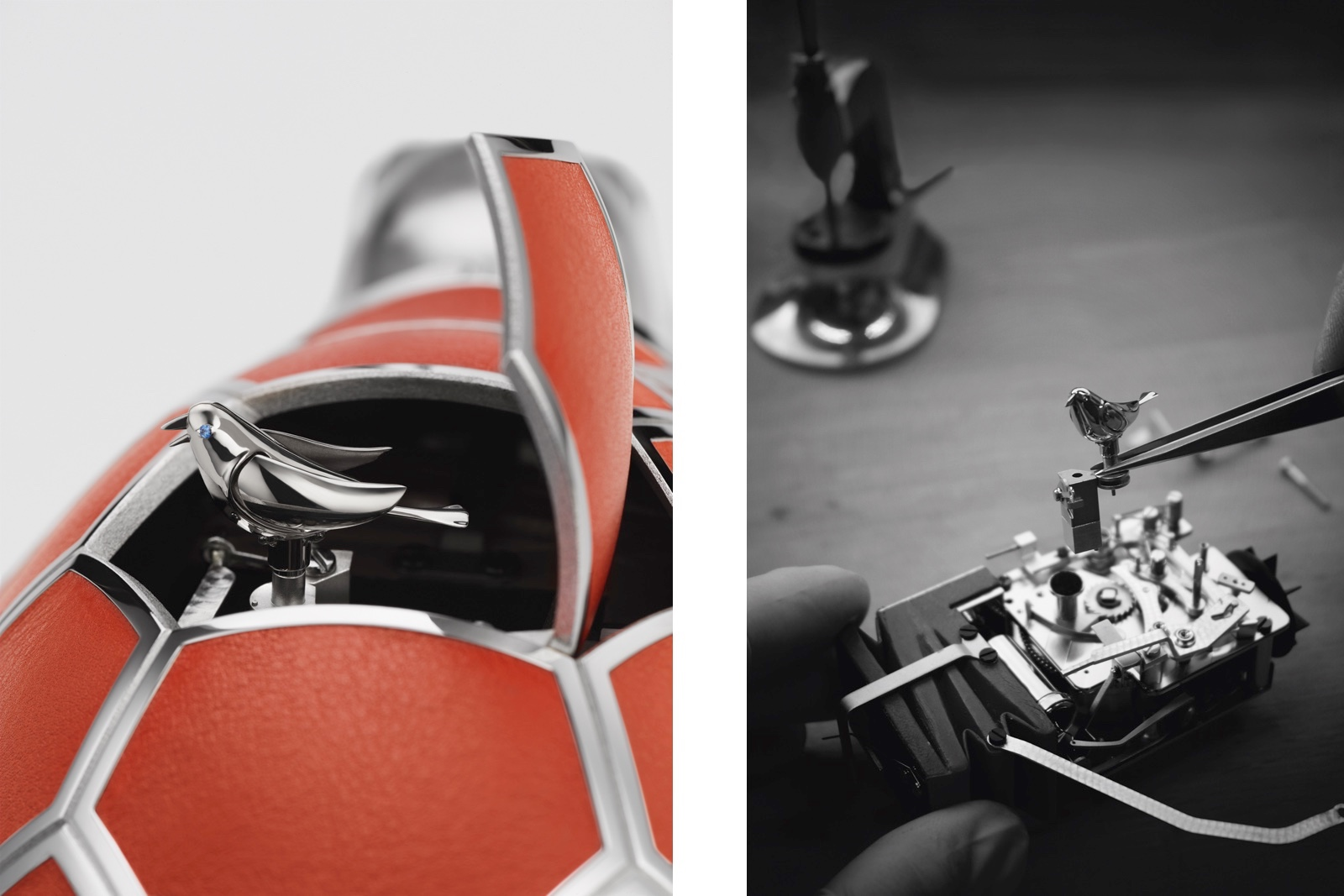 MB&F Kelys and Chirp Details