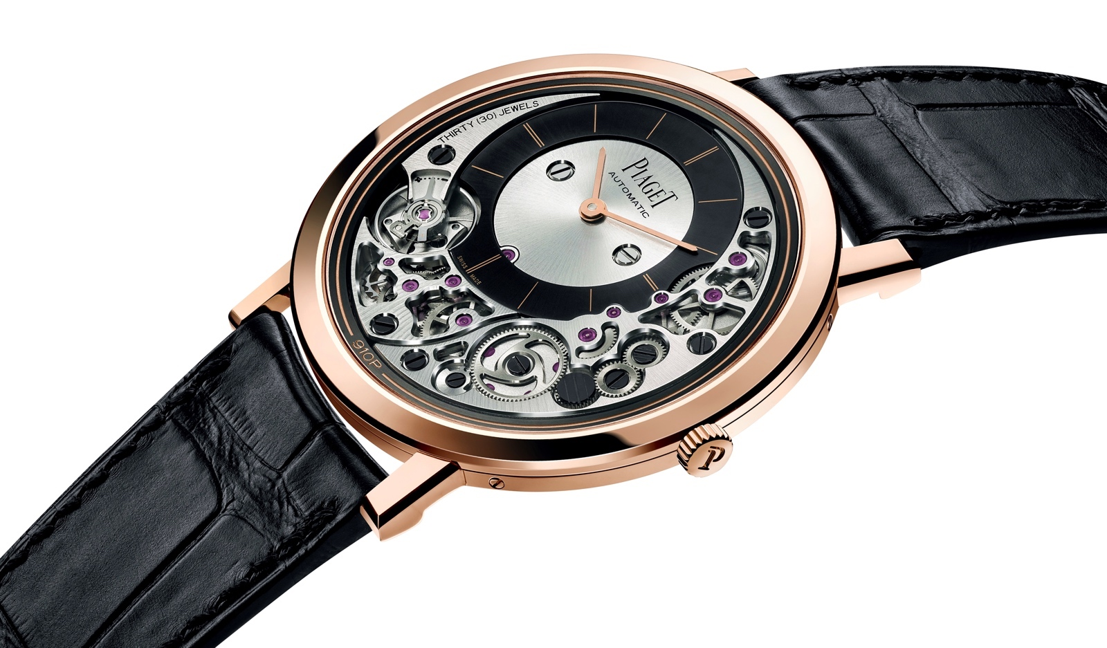 Piaget Altiplano Ultimate Automatic 910P - perfil caja
