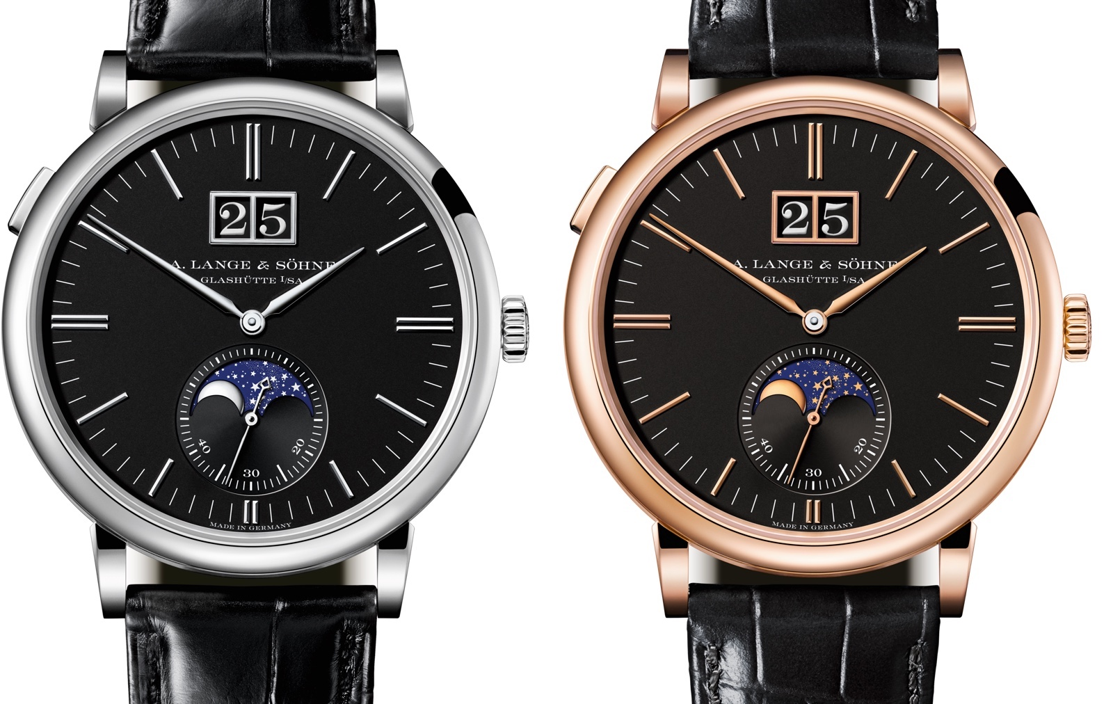 A. Lange & Sohne Saxonia Moon Phase SIHH 2018