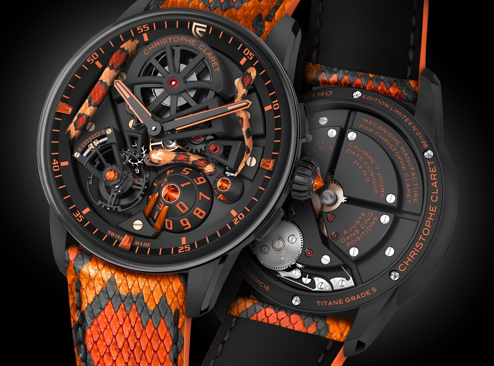 Christophe Claret Maestro Pantherophis SIHH 2018