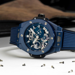 Hublot presenta el Big Bang Meca-10 Blue Ceramic