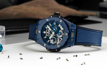 Hublot Big Bang Meca-10 Blue Ceramic - cover