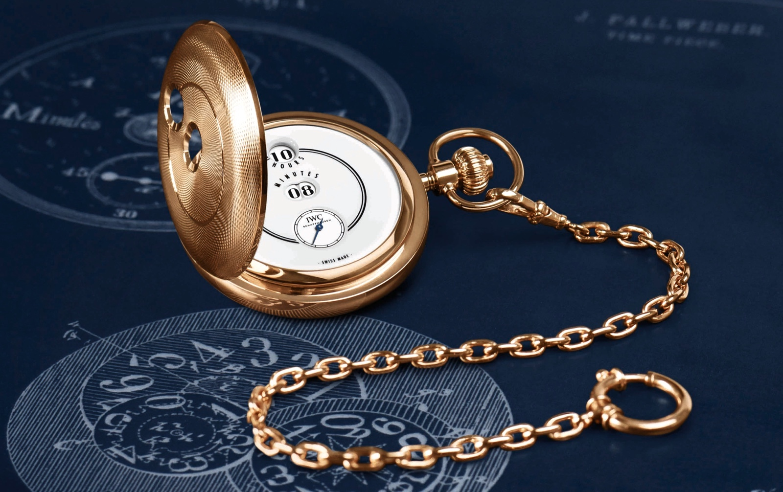IWC Tribute to Pallweber Pocket Watch Coleccion Jubilee SIHH 2018