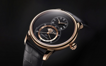Jaquet Droz Grande Seconde Moon Black Enamel - cover