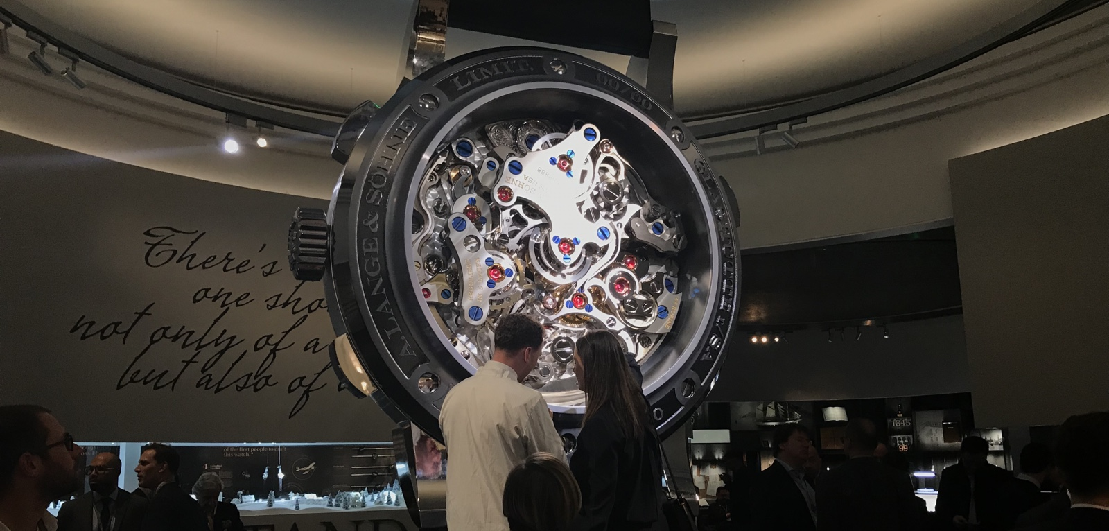 Lange Sohne SIHH 2018 Booth